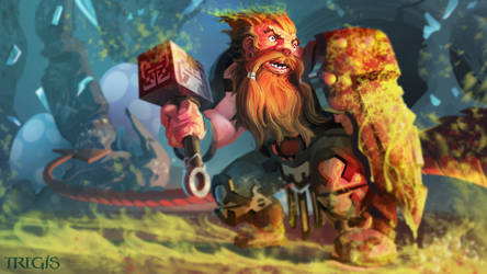 Burning dwarf