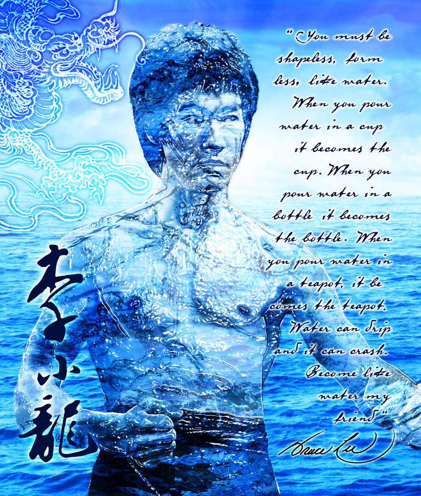 Quotes About Water Extraordinary Bruce Lee Water Quotetorozon On Deviantart