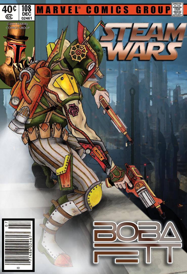 Steampunk Boba Fett (Final Cover Ver.) by Phantom42189