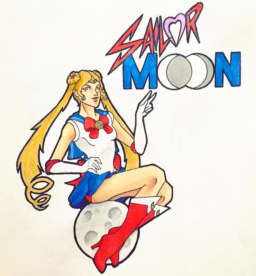 Sail on, Sailor Moon! by JSRPhoenix