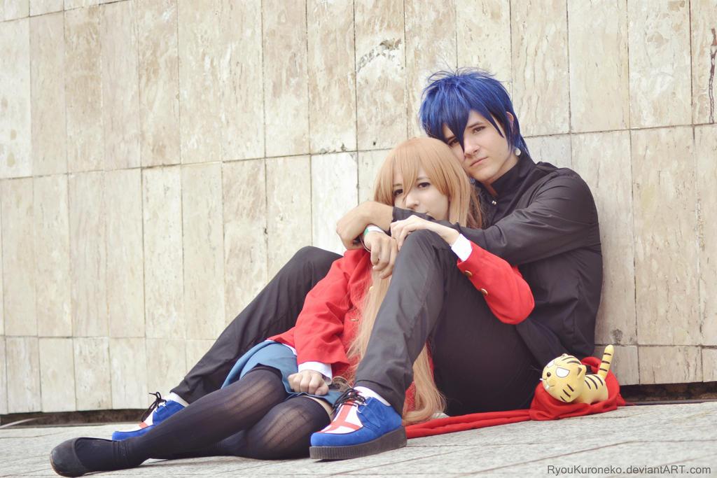 Toradora: Taiga and Ryuuji by ryouism on DeviantArt