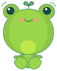 Kawaii Vector Frog by sicara-deviant