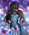 Portrait of True Beauty - Fragile Butterfly by Inspirelirium