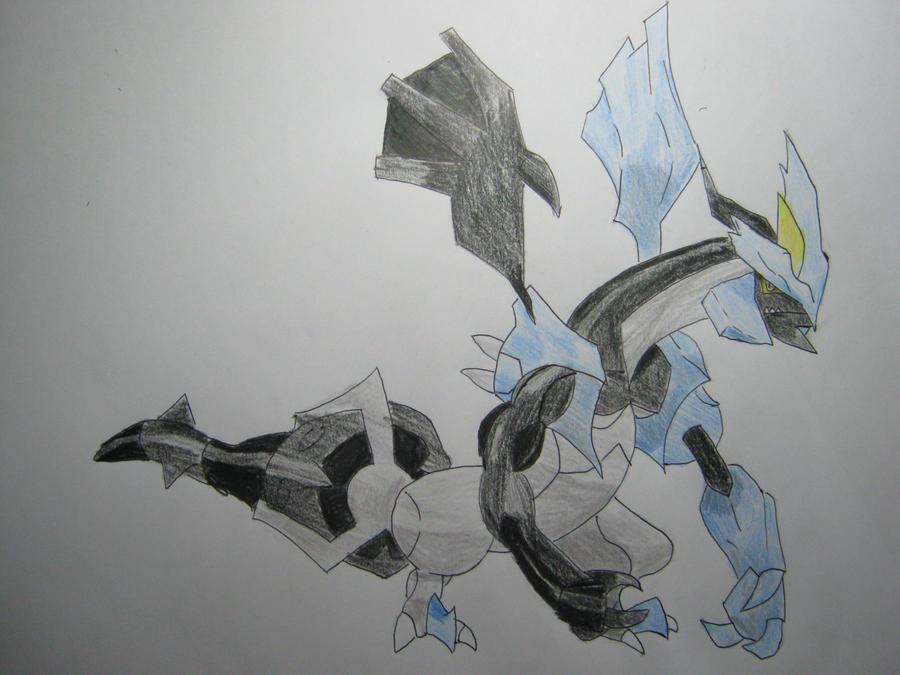 Kyurem Black Form by Jackalope576