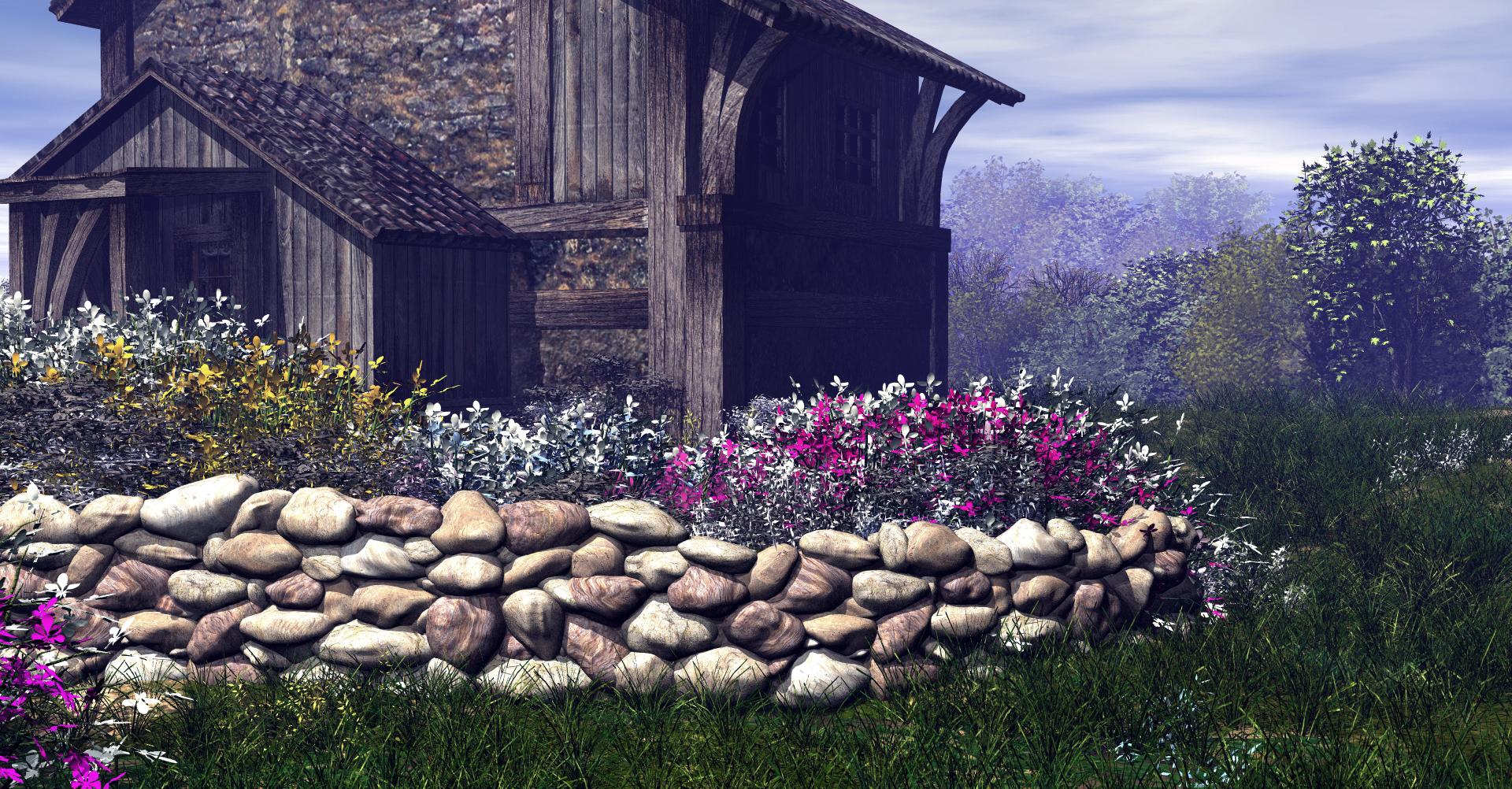 Spring Garden by RavynsWorld