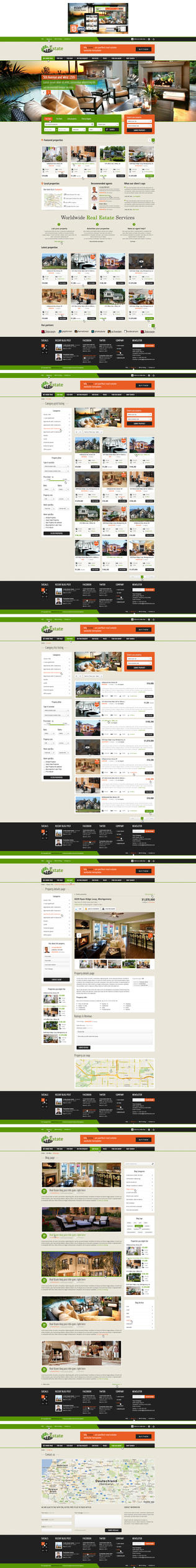 MT Real Estate Multipurpose HTML5 / CSS3 Template by brillianthemes