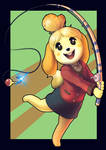 Isabelle - Animal Crossing New Leaf