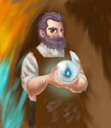 Kilvin, Master Artificer by Rascal-Sheep
