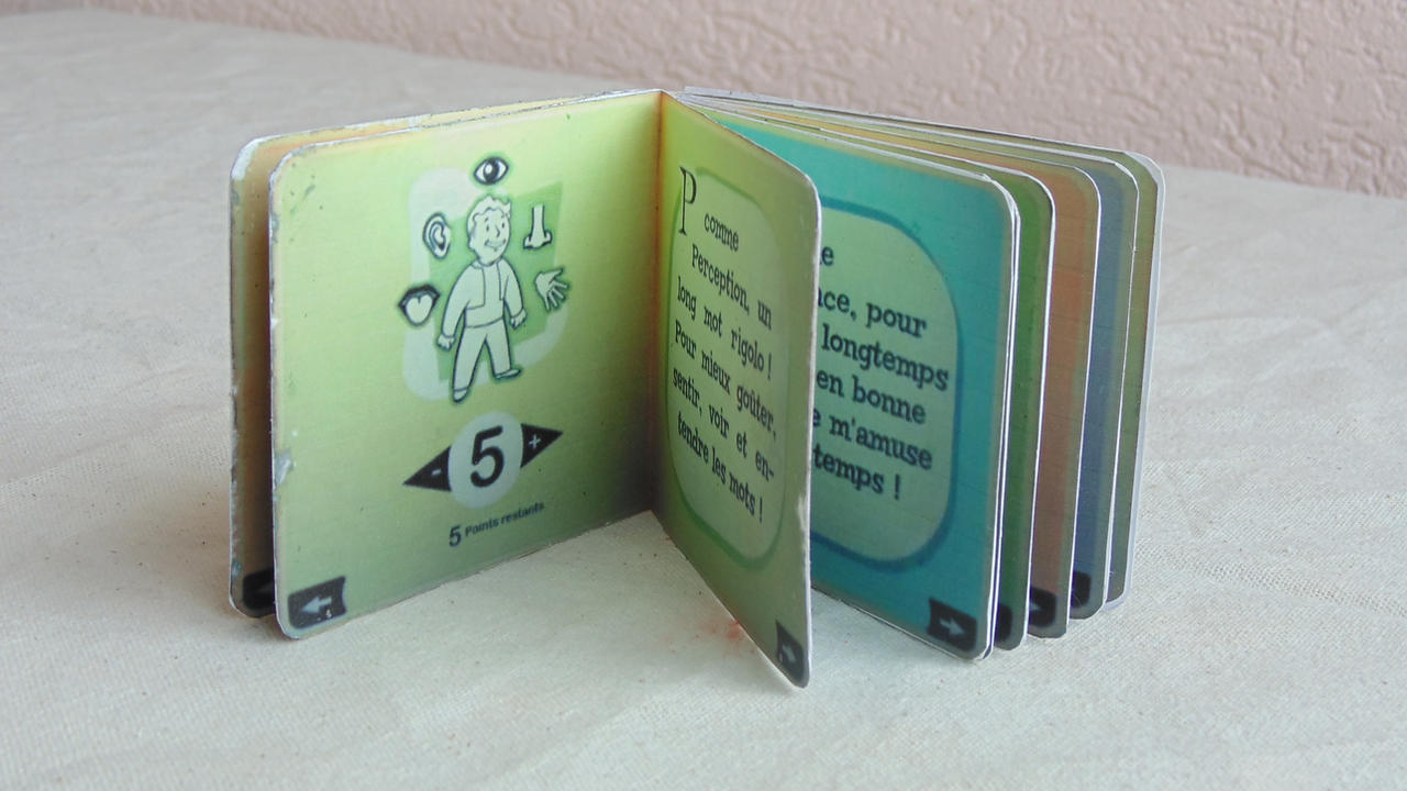 Fallout 3 Be special skill book by maccreene on DeviantArt