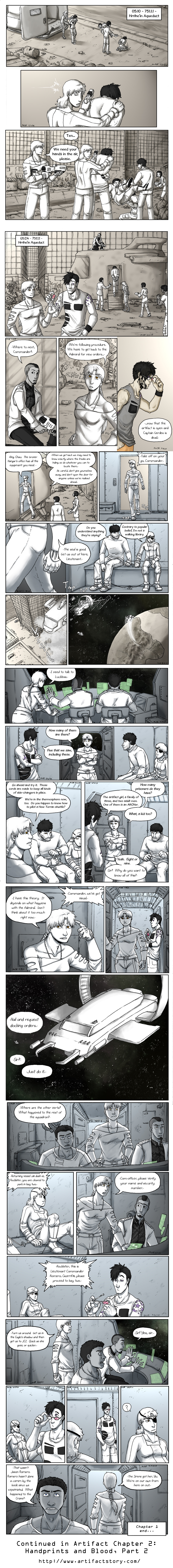 Artifact Pages 22-28 by The-Alchemists-Muse