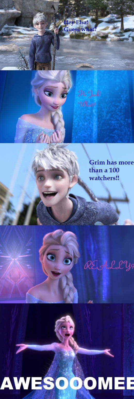 Hey Elsa! (Thx for the watchers!) by GrimTales29