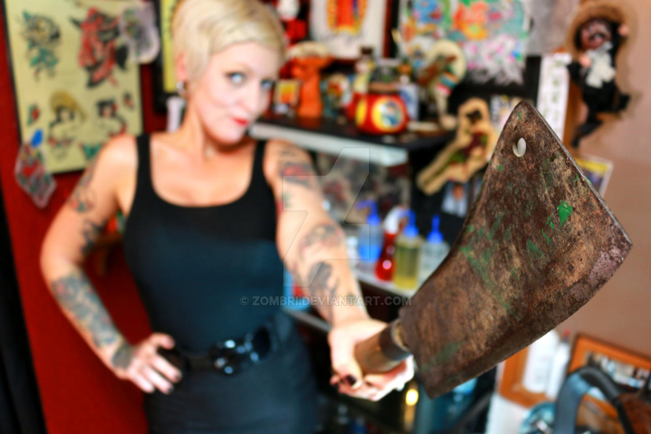 Aimee - Exile Tattoo III by Zombri