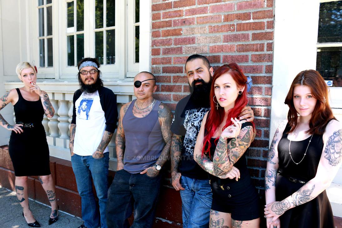 Exile Crew III by Zombri
