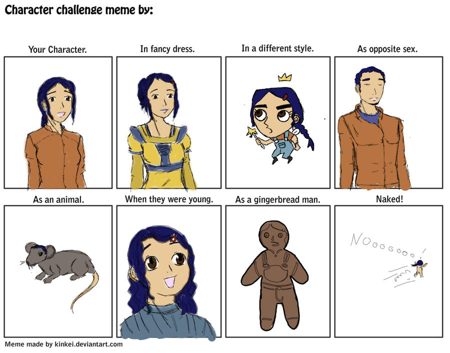 Olina character challenge Meme by Biali