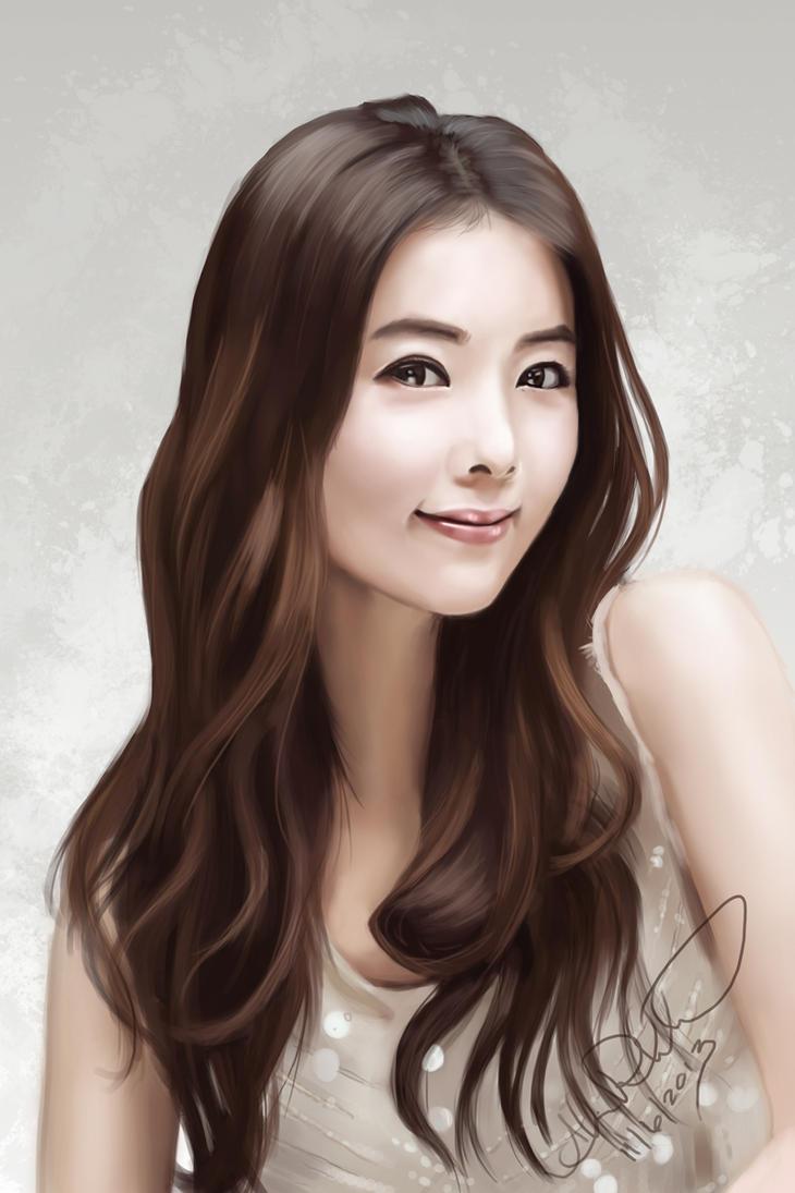 Korean Actress By Eeddey On Deviantart