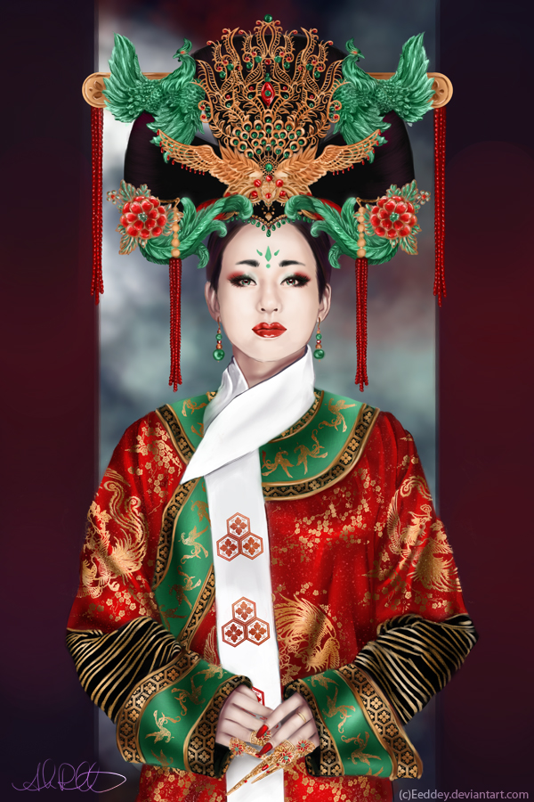 The Jade Phoenix Empress by Eeddey