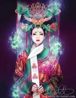 The Jade Phoenix Priestest by Eeddey