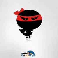 Logo - Dark_Ninja by 3ric-Design