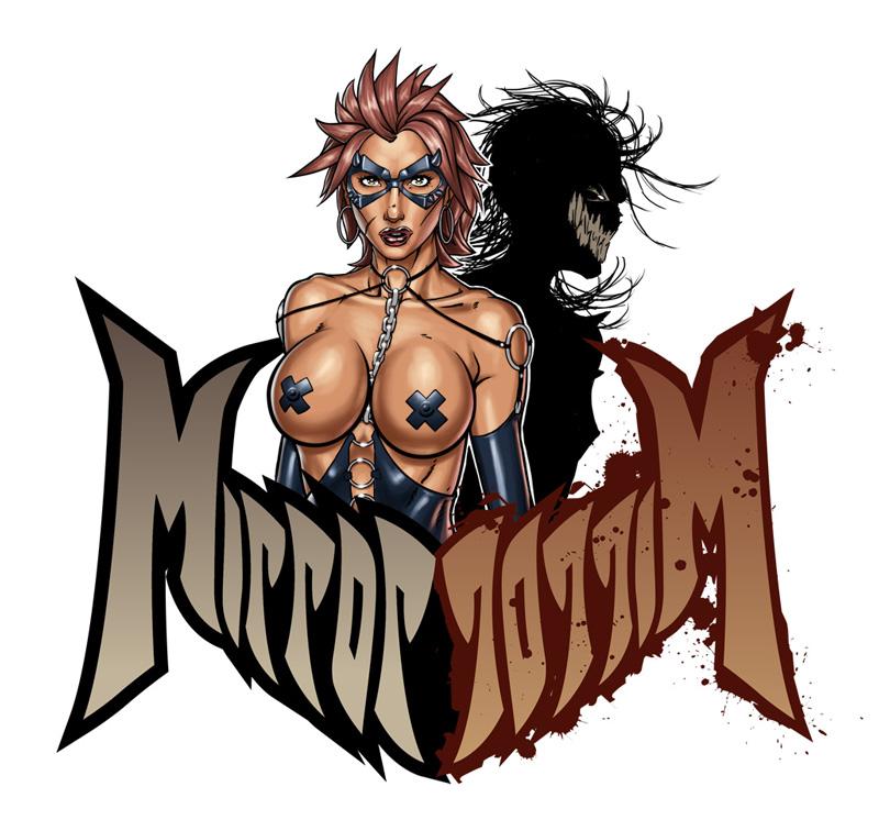 Mirror Mirror Comic Logo by superhawkins