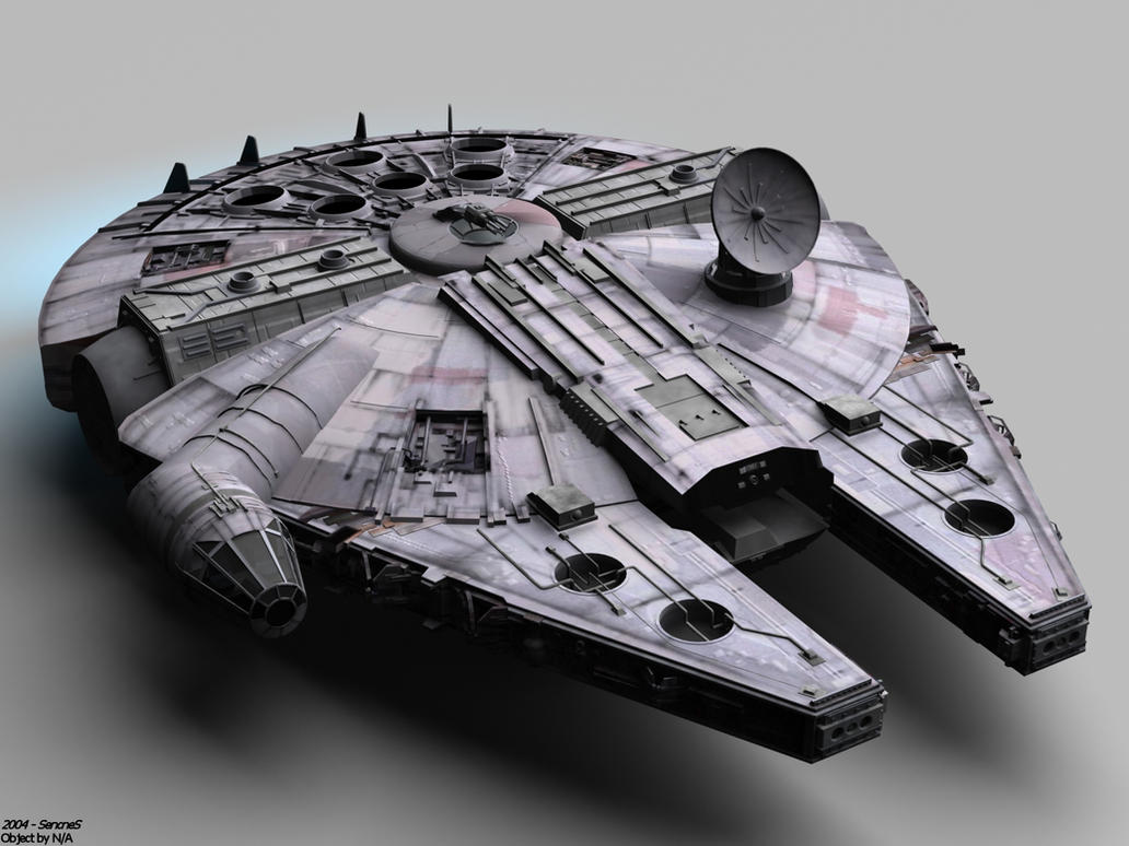 Star Wars: Millennium Falcon by SencneS
