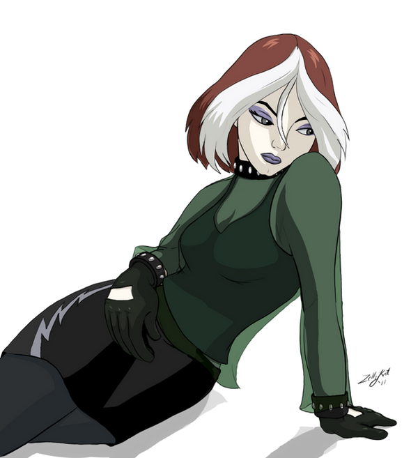 Gothic Beauty Rogue by ZellyKat