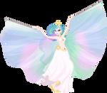 Equestrian Dancer: Princess Celestia
