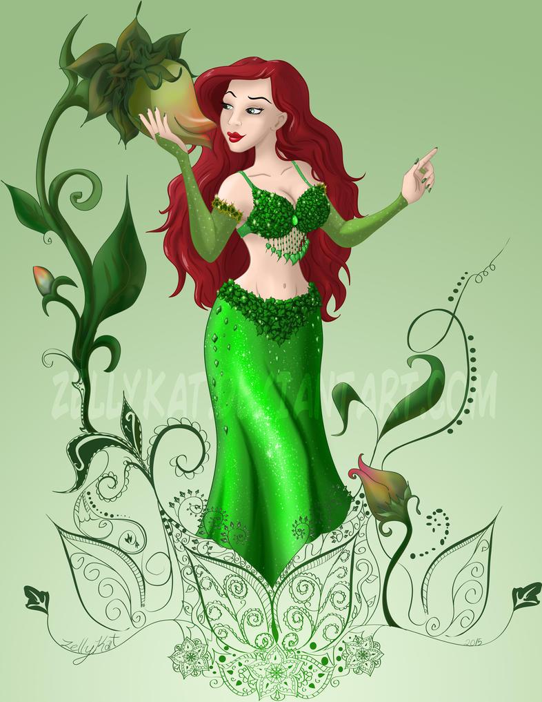DC Dancer- Poison Ivy by ZellyKat