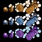 Unicreatures - Dahli Family by ZellyKat