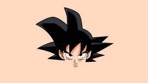 Goku - Dragon Ball Z NO LOGO by KomankK