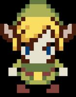 Link - The legend of Zelda Pixel