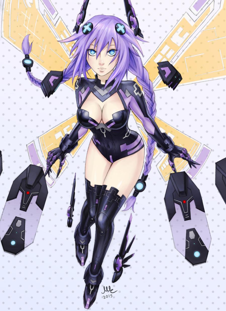 Purple Heart - Hyperdimension Neptunia by Sciamano240