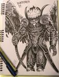 Jack the Reaper - Inktober 11