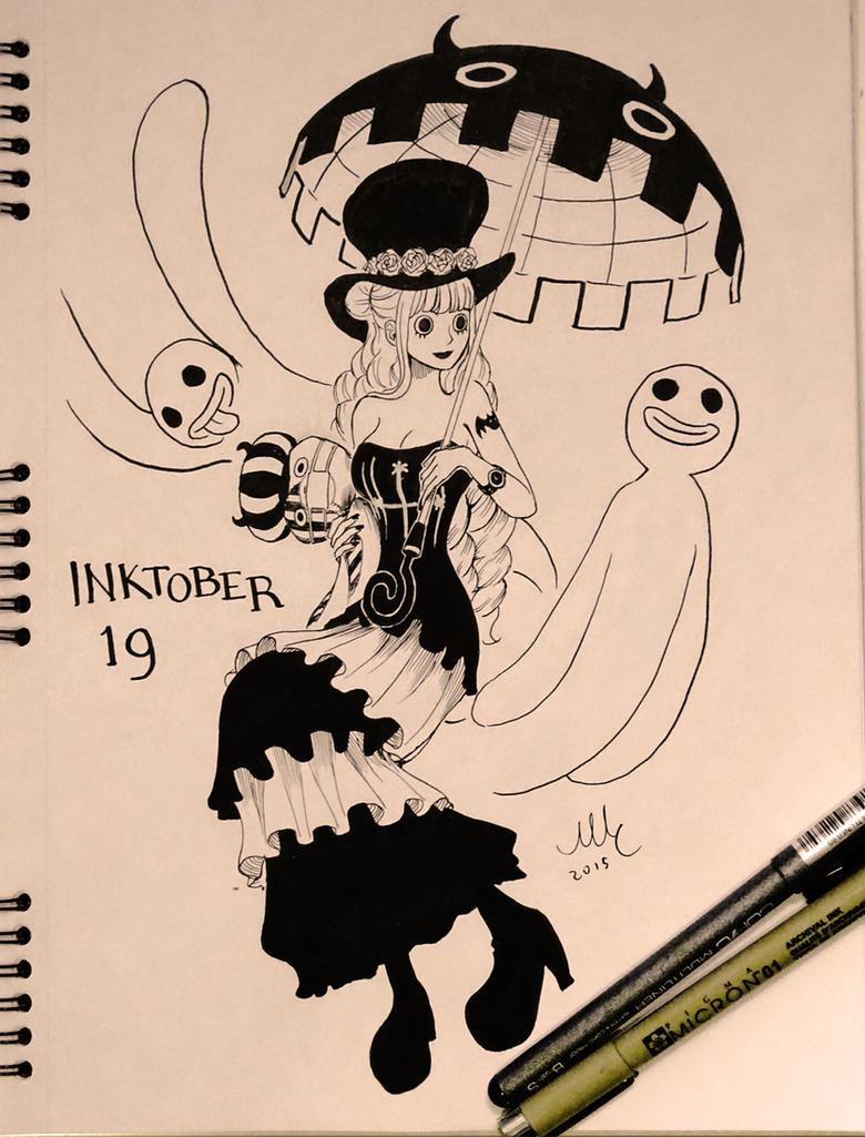 Perona - Inktober 19 by Sciamano240