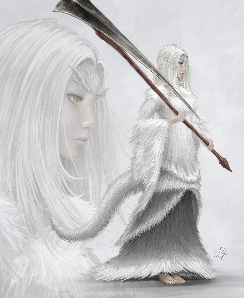 Priscilla - Dark Souls by Sciamano240