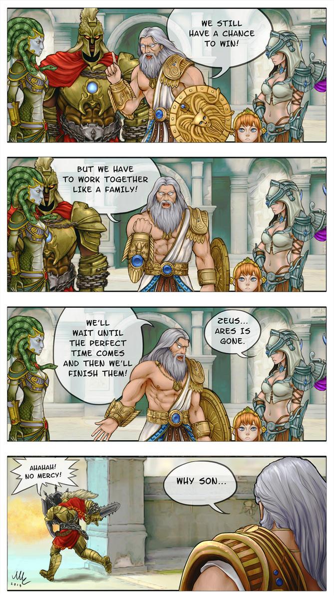As a family - SMITE comic by Sciamano240