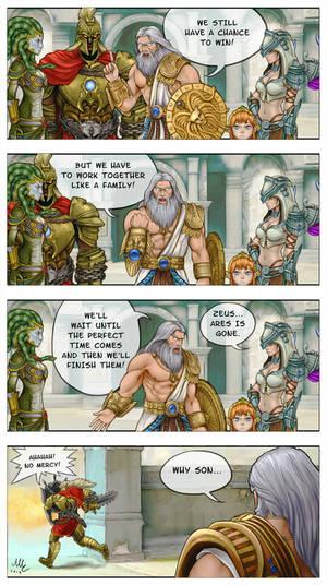 As a family - SMITE comic
