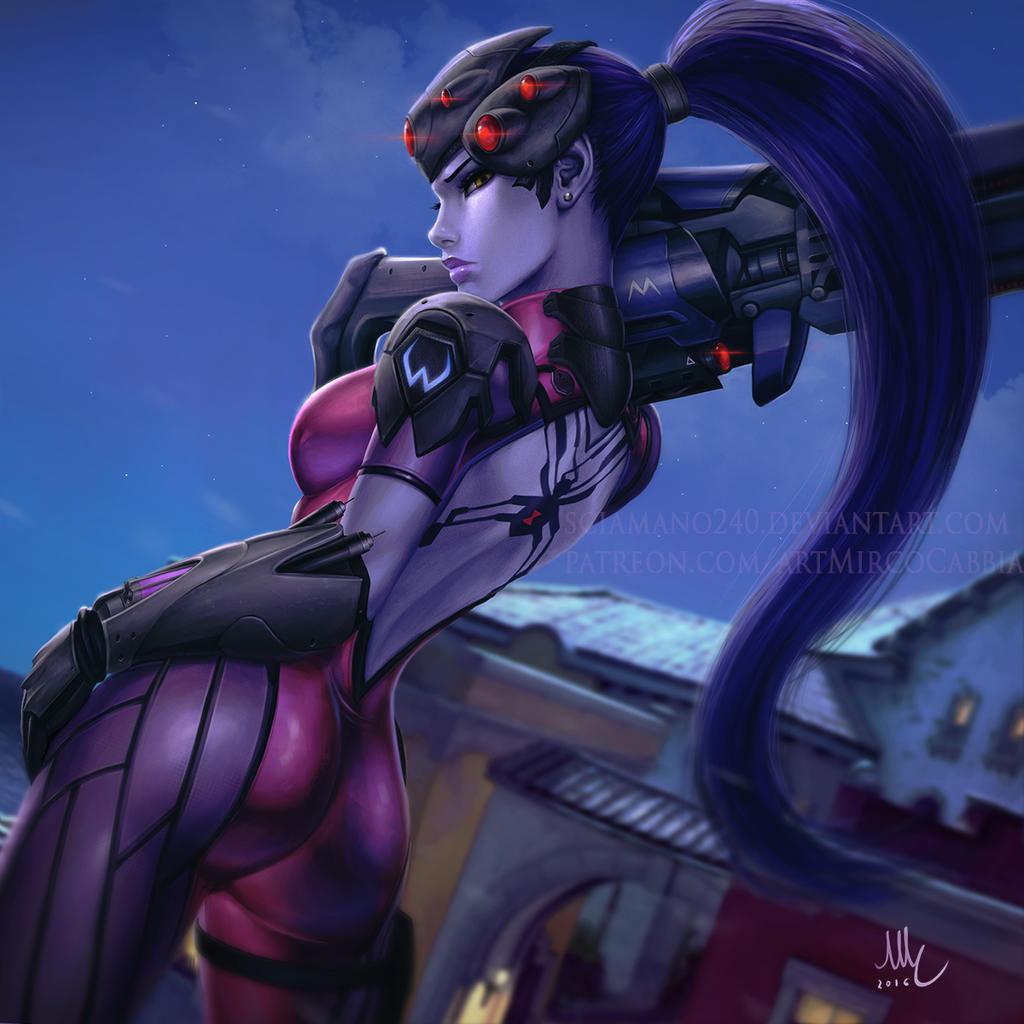 Widowmaker - Overwatch by Sciamano240