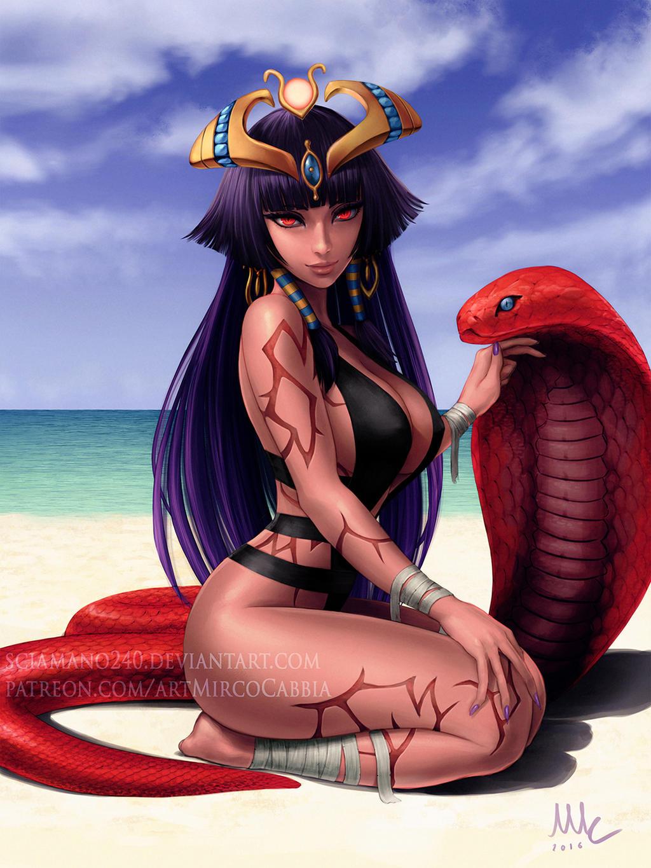 Monster Girl Encyclopedia - Pharaoh by Sciamano240