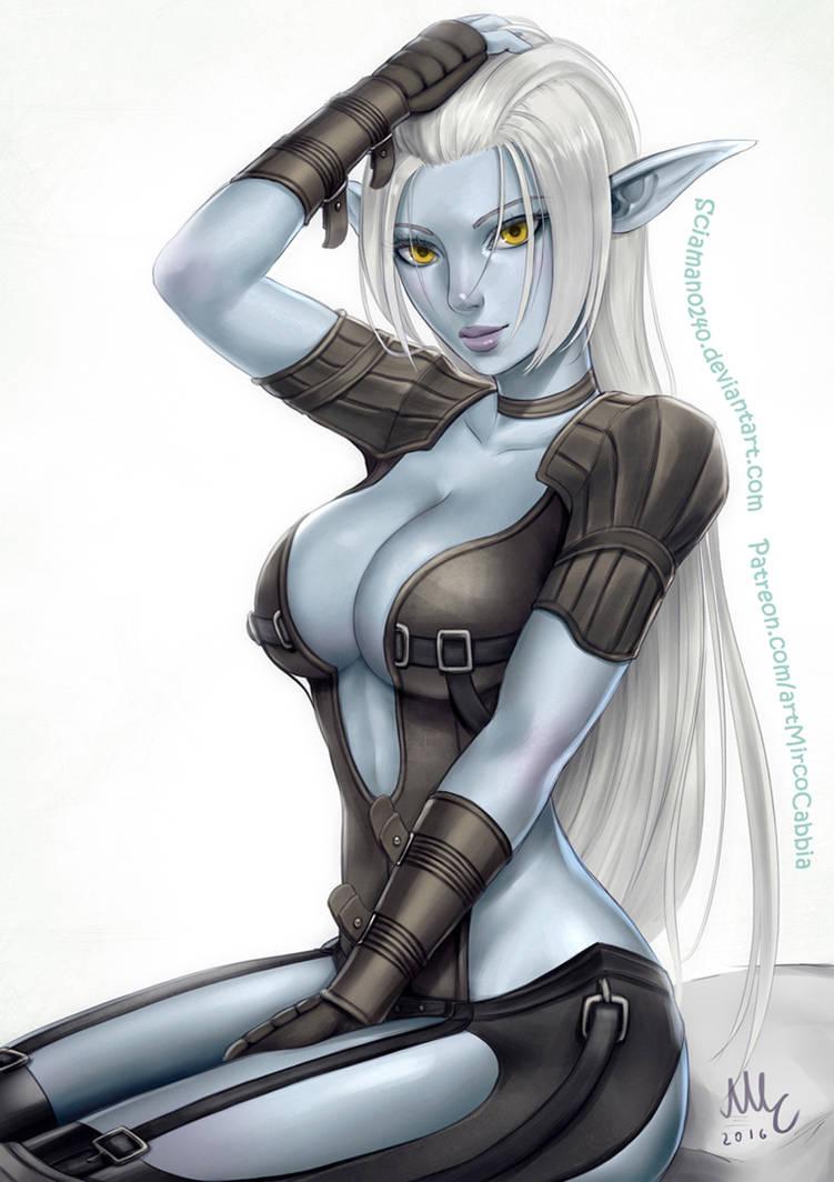 Dark Elf Fan Art
