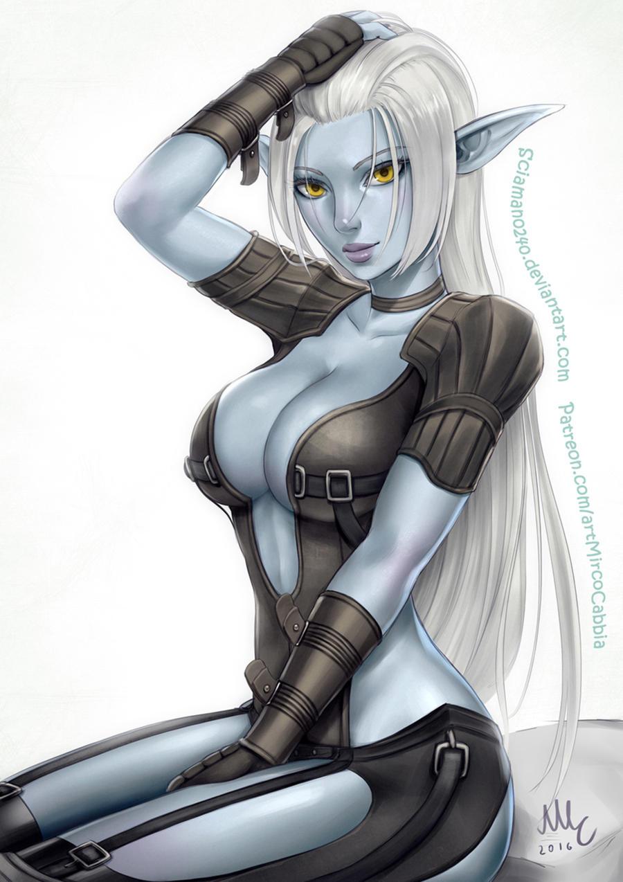 Dark Elf - Lineage 2 by Sciamano240