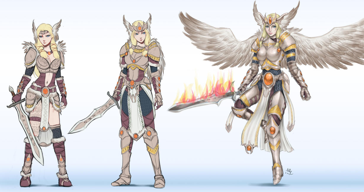 Vanadis Freya T5 - Smite by Sciamano240
