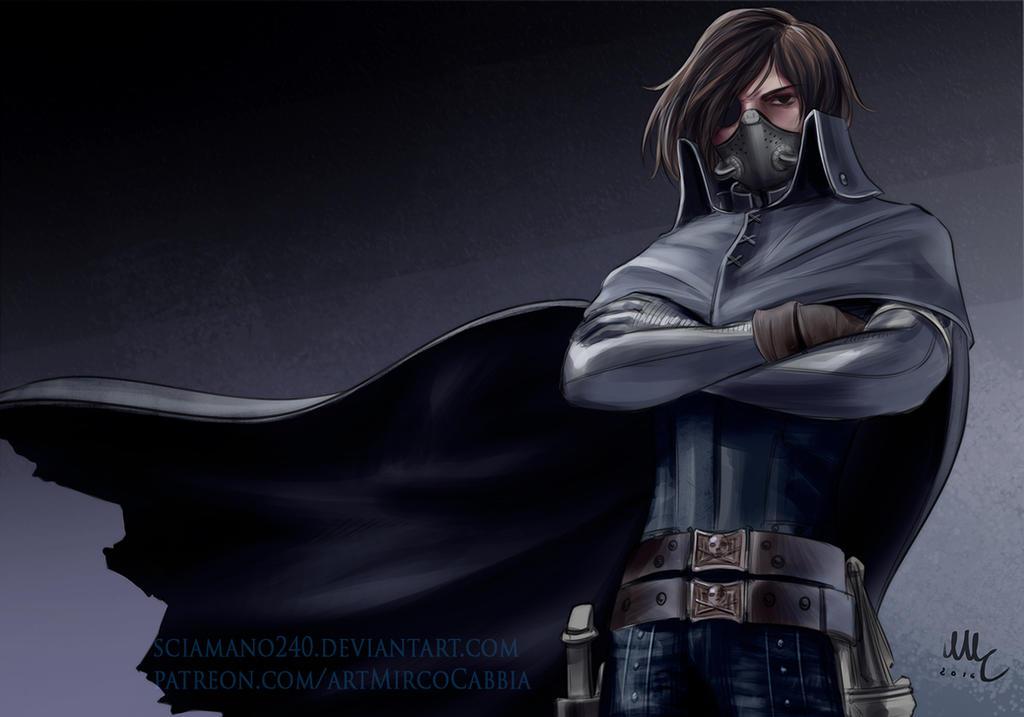 OC Harlock (Patreon reward) by Sciamano240