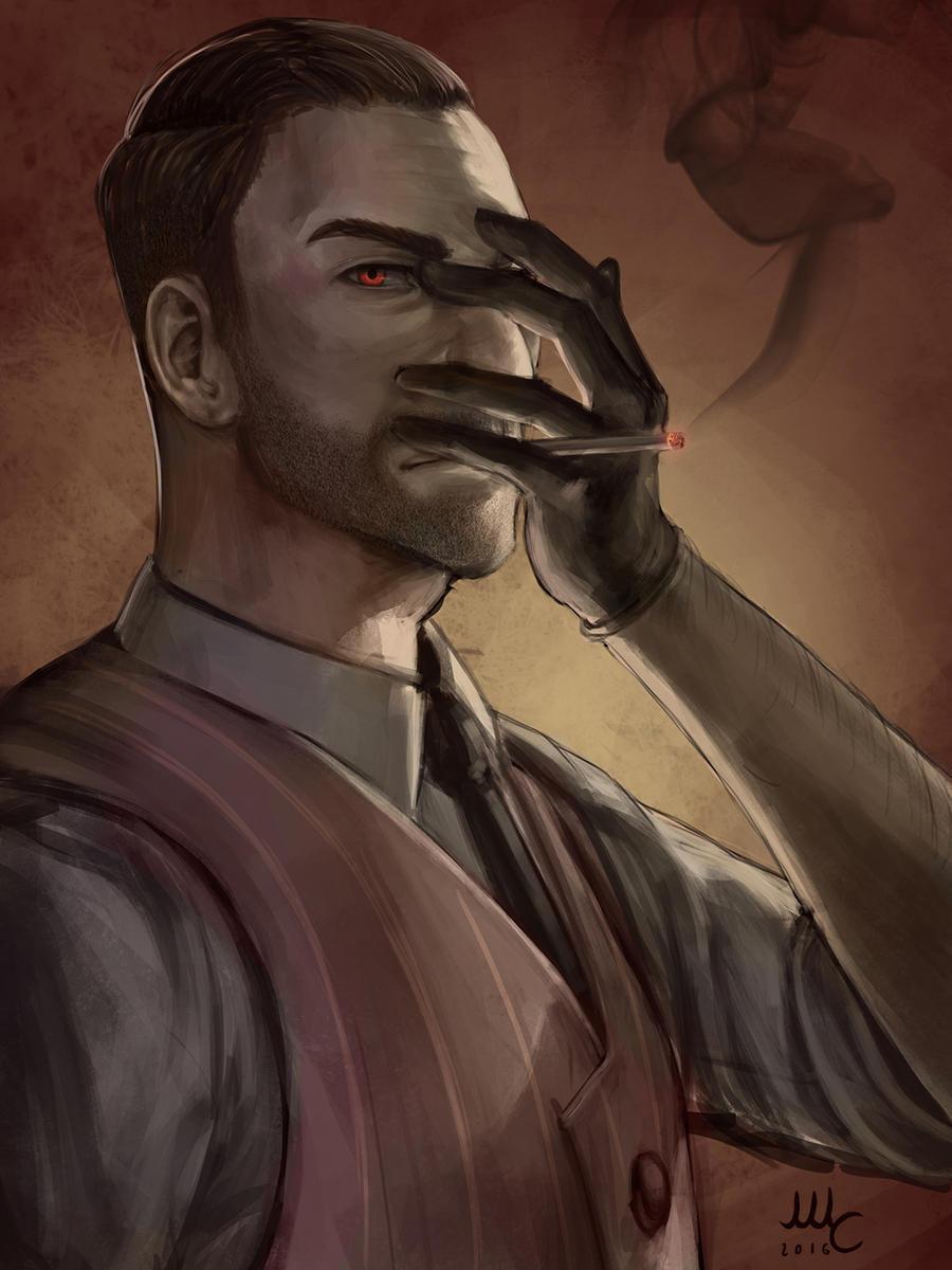 Maskless Spy - TF2 (Patreon reward) by Sciamano240
