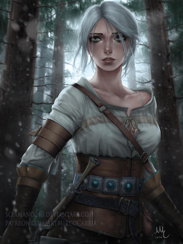 Ciri - The Witcher 3 (Patreon reward) by Sciamano240