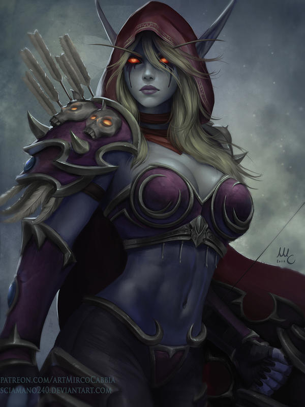 Sylvanas Windrunner - WoW (HotS version) by Sciamano240 on ...