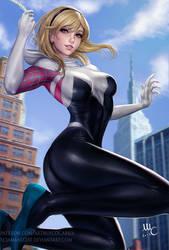 Spider Gwen by Sciamano240