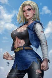 Android 18 - DBZ (2v) by Sciamano240