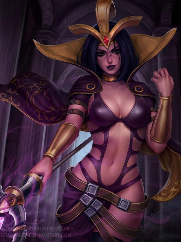 LeBlanc - League of Legends (3v) by Sciamano240 on DeviantArt