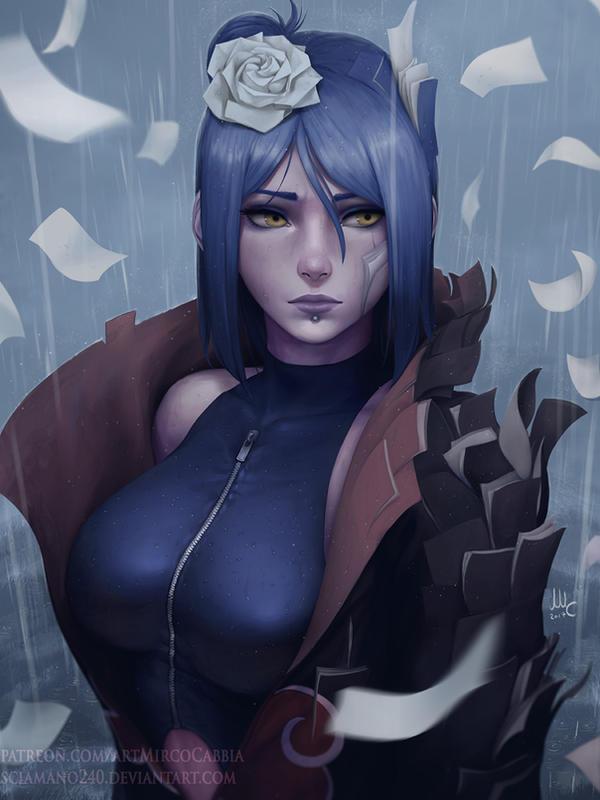 Konan - Naruto: Shippuden by Sciamano240