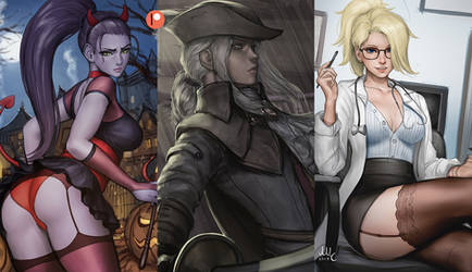 Patreon preview - November by Sciamano240